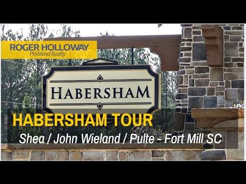 Habersham Community Tour in Fort Mill SC - Pulte and Shea Homes