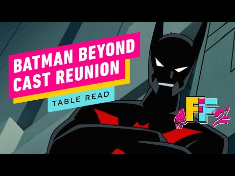 Batman Beyond - Cast Reunion and Table Read | IGN Fan Fest 2021