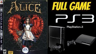 Скачать American McGee S Alice 100 ALL SECRETS PS3 Walkthrough Gameplay NO COMMENTARY