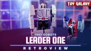 1983 Gobots Leader One Retro Review
