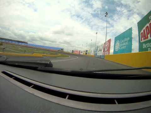 One fast BMW at Charlotte Motor Speedway Road Course
