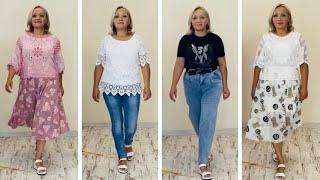 ТРЕНДЫ 2021 Потрясающие шифоновые юбки модные джинсы и роскошные блузки Италия