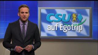 Ehring und Statistikexperte Butenschön zur CSU