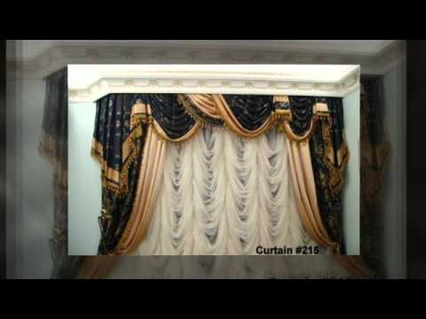Elegant Curtains Designs by Kristina Koroleva