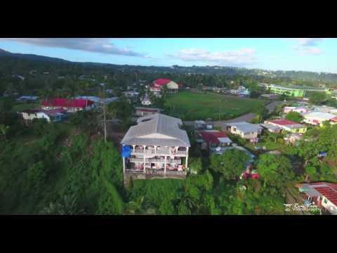 Lami suburb (Fiji) by drone