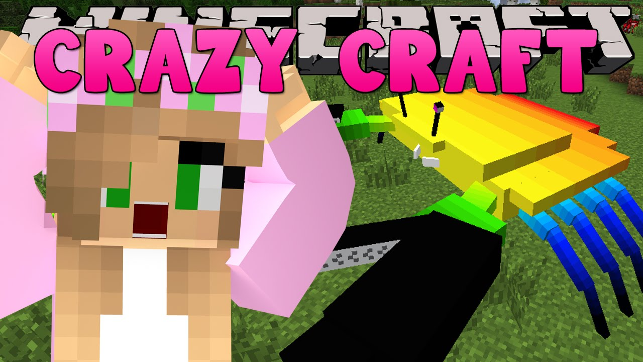 Minecraft crazy craft 3 0 little kelly attacked by for Http test voidswrath com modpacks crazy craft 3 0