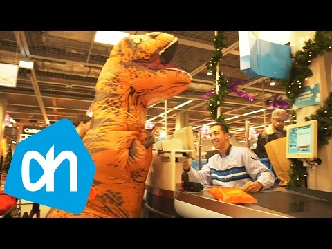 😂 T-REX RAVAGE IN ALBERT HEIJN