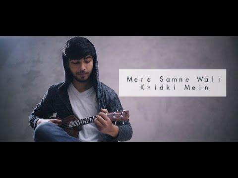 mere-samne-wali-khidki-mein-|-karan-nawani-|-ukulele-cover-|-padosan-|-kishore-kumar