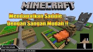 Cara Mendapatkan Saddle Di Mode Survival Dengan Sangat Mudah!!   MineCraft Tutorial