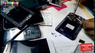 Galaxy Note 1 Disassemble  & Assemble  and Sim Tray   Repair Replacement