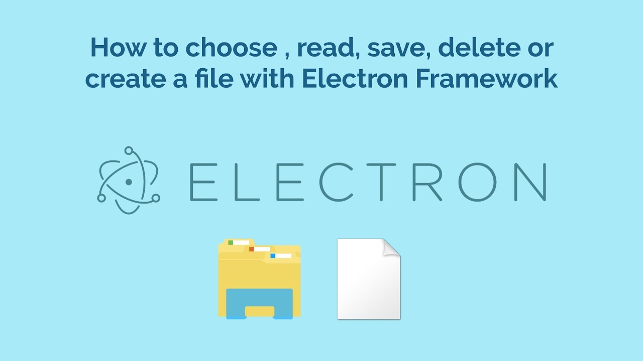 How to choose , read, save, delete or create a file with
