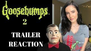Goosebumps 2 Haunted Halloween *Trailer Reaction