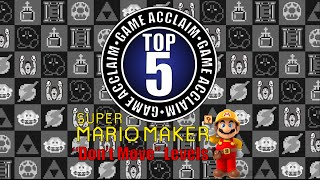 "Game Acclaim Top 5 - Super Mario Maker ""Don"