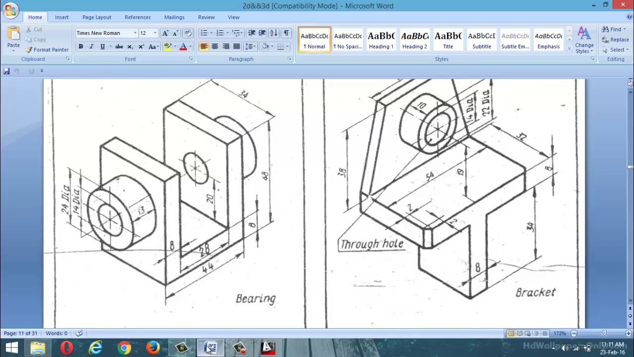 autocad 3d practice work examples class 1 youtube