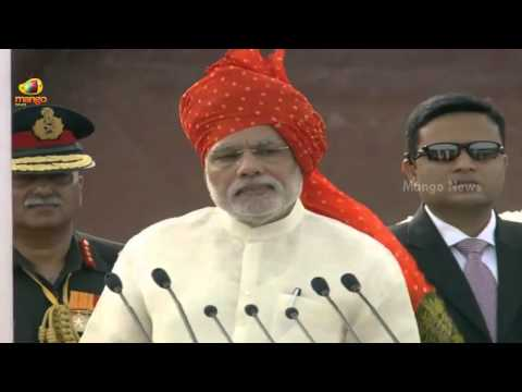 PM Narendra Modi Independence Day Speech at Red Fort - Part 1 -  68th Independence Day
