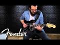 Fender Standard Stratocaster HSS with  Floyd Rose Demo   Fender