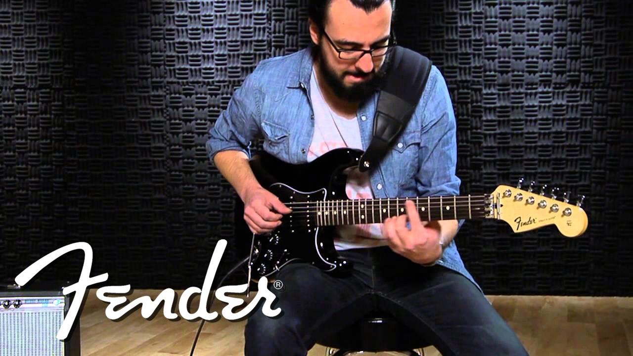 Fender Standard Stratocaster Hss With Floyd Rose Demo Youtube Strat Wiring