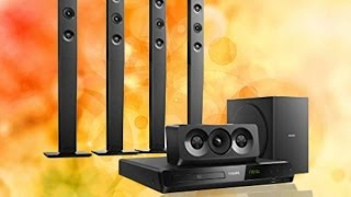 Review #4 Home Theater HTD5580x/78 Philips 5.1 1000 Wats