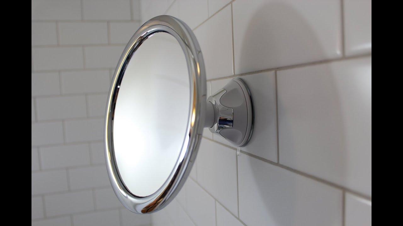 Best fogless shower mirror #ShowerMirror - YouTube