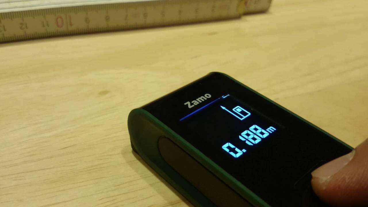 Entfernungsmesser Mit Yt : Der laser entfernungsmesser zamo druckpunkt taste schlecht