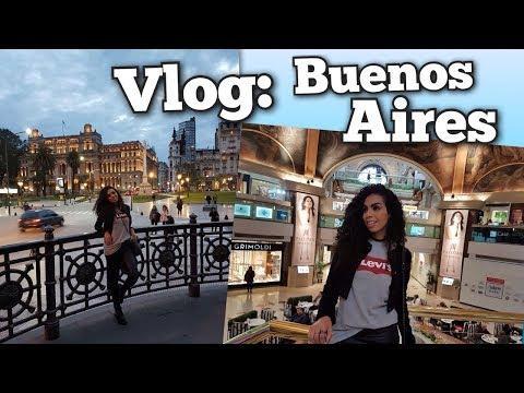 VLOG BUENOS AIRES - PARTE 1  CÂMBIO  CALLE MURILO  HAVANNA  FALLABELA