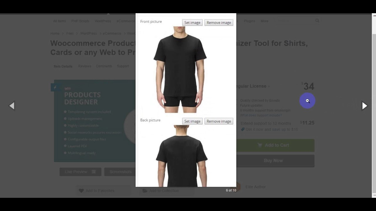 Design t shirt online tool - Woocommerce Products Designer Online Customizer Tool For Shirts Cards Or Any Web To Print Shop