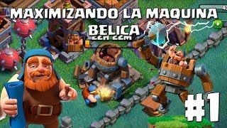 Nueva Serie!! Mejoro la Maquina Bélica al 6!! - MEJORANDO LA MAQUINA BÉLICA AL 10 - CLASH OF CLANS