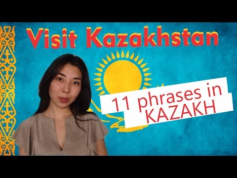 Visit Kazakhstan: 11 useful phrases in Kazakh - how to ask for help and thank someone