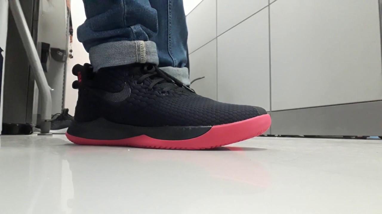 8cce05c86a1e3 Nike Lebron Witness 3 on feet - YouTube