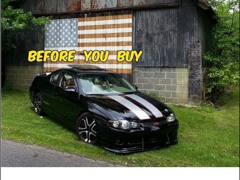 Watch This BEFORE You Buy a Chevy Monte Carlo SS (6th Gen 2000-2007)