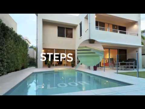AkvoSpiralift Animation - movable pool floors - fonds mobiles pour piscine