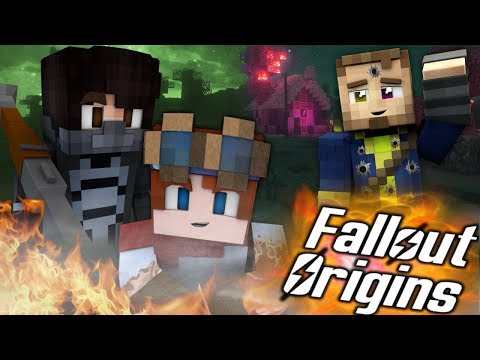 NEW BEST FRIENDS! Minecraft FALLOUT ORIGINS #2 ( Minecraft Roleplay SMP ) thumbnail