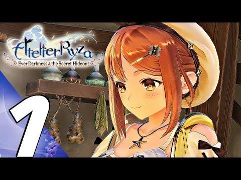 ATELIER RYZA  Gameplay Walkthrough Part 1  Prologue (Full Game) 4K 60FPS