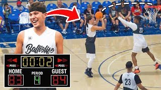 2HYPE Vs Ball IS LIFE Basketball Game Review - SUPER CLOSE ENDING!