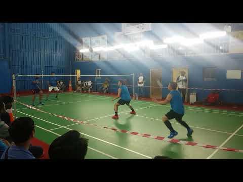 Finals: Alvin/Eric vs Vaishak/Riyaz
