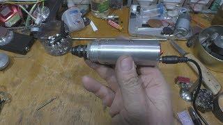 Мини бормашина из старого винчестера. (Mini drill from the old hard drive)