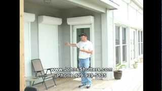 Hurricane Shutters Home Door Security And Home Window Security.mp4