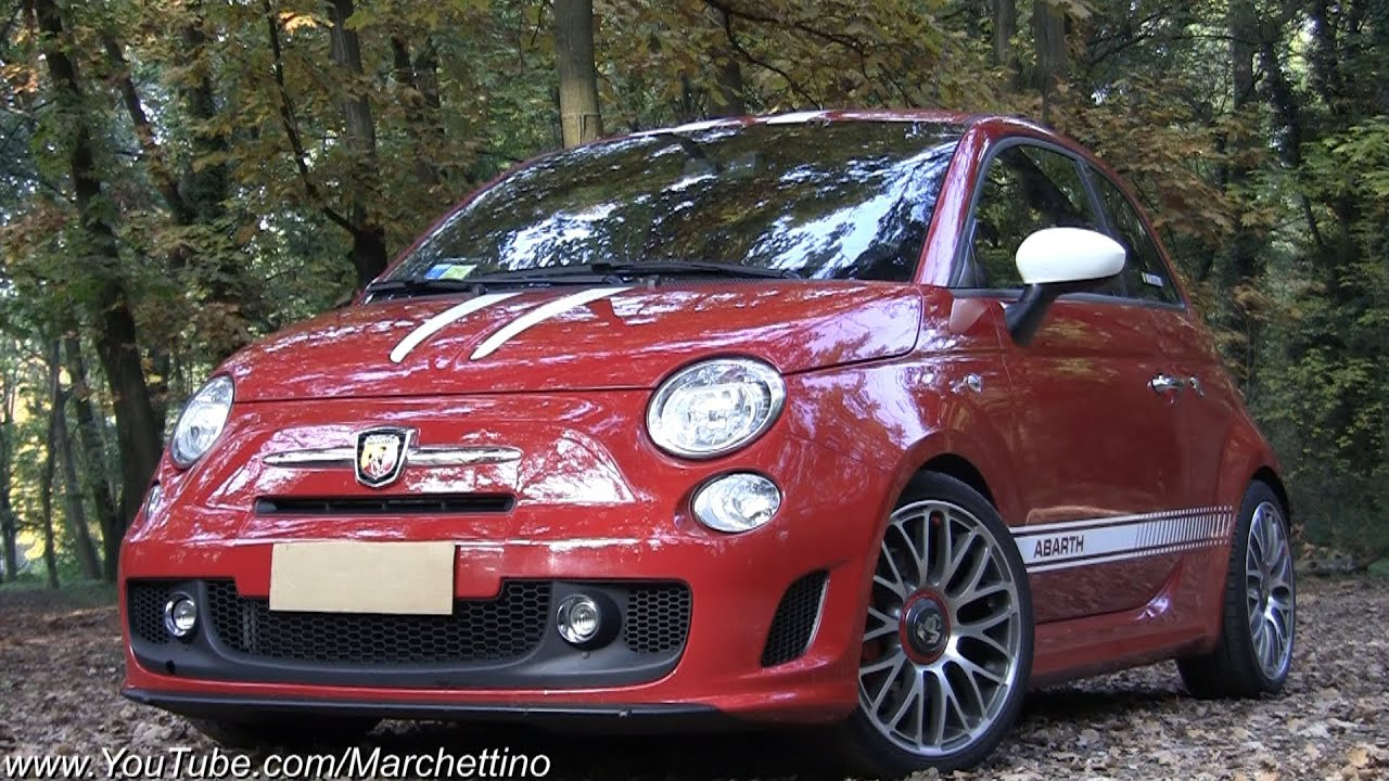 Abarth 500 LOUD Sounds - Rev and Accelerations - YouTube