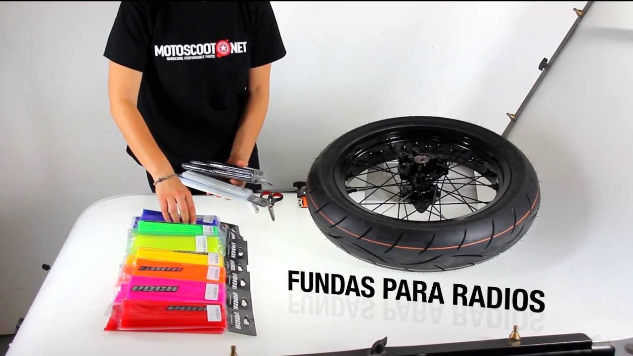 10ec6cd7d0e Fundas para radios Voca Spokes - YouTube