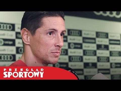 Ferando #Torres po meczu #Atletico - #Napoli 2:1 [Audi Cup 2017]