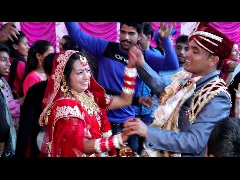दुल्हा दुल्हन का जबरदस्त डांस ऐसा डांस कभी देखा नहीं होगा    Latest dhula dhulhan Super Hit Dj Dance