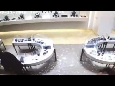 Diamonds worth millions robbed in seconds from jewelry shop  (UK)