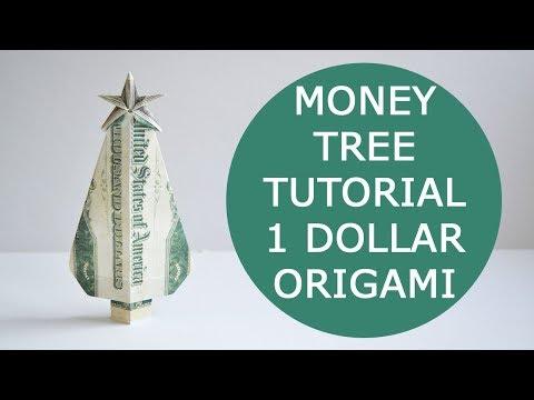 Christmas Tree Ornaments - Money Origami   Money origami, Dollar ...   360x480