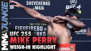 UFC 255: Mike Perry Official Weigh In Highlight