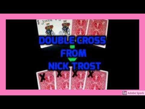 ONLINE MAGIC TRICKS TAMIL I ONLINE TAMIL MAGIC #378 I DOUBLE CROSS from NICK TROST