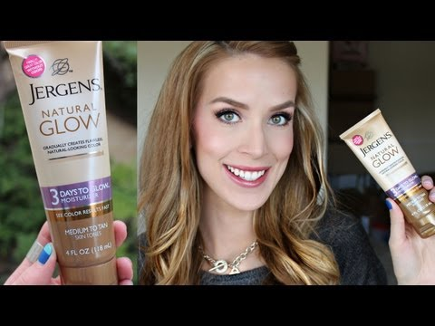"""NEW Jergens """"No Odor"""" Self Tanner First Impression Review!"""