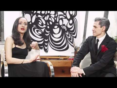 M·A·C on set with Isabel and Ruben Toledo