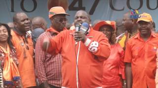 VIEWER DISCRETION  ADVISED: George Aladwa insulting Mathare MP  for jumping to Jubilee