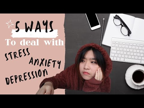5 ways to deal with stress * fun ways* and *actually worked for me* | Ft. COVID-19