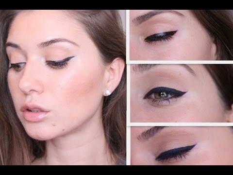 Как научиться рисовать стрелки HOW TO : winged eyeliner